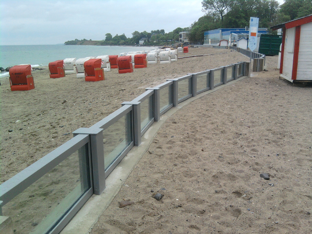 Im Bereich des Strandes