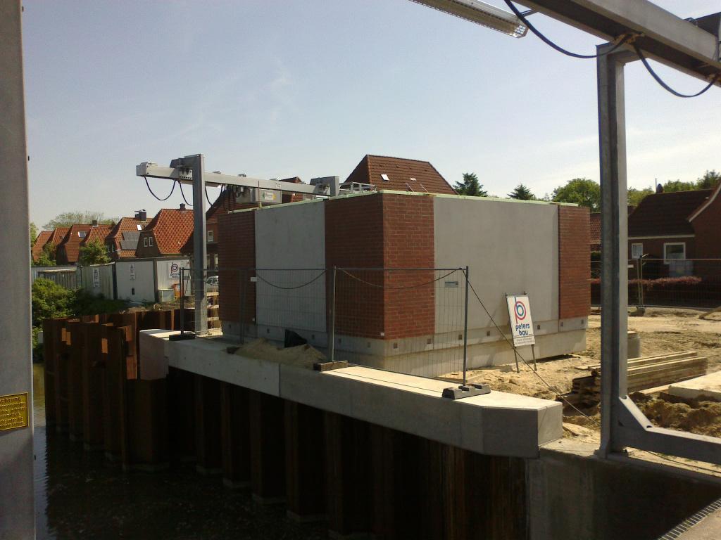 Neubau des Pumpwerks Brunsbüttel Nord
