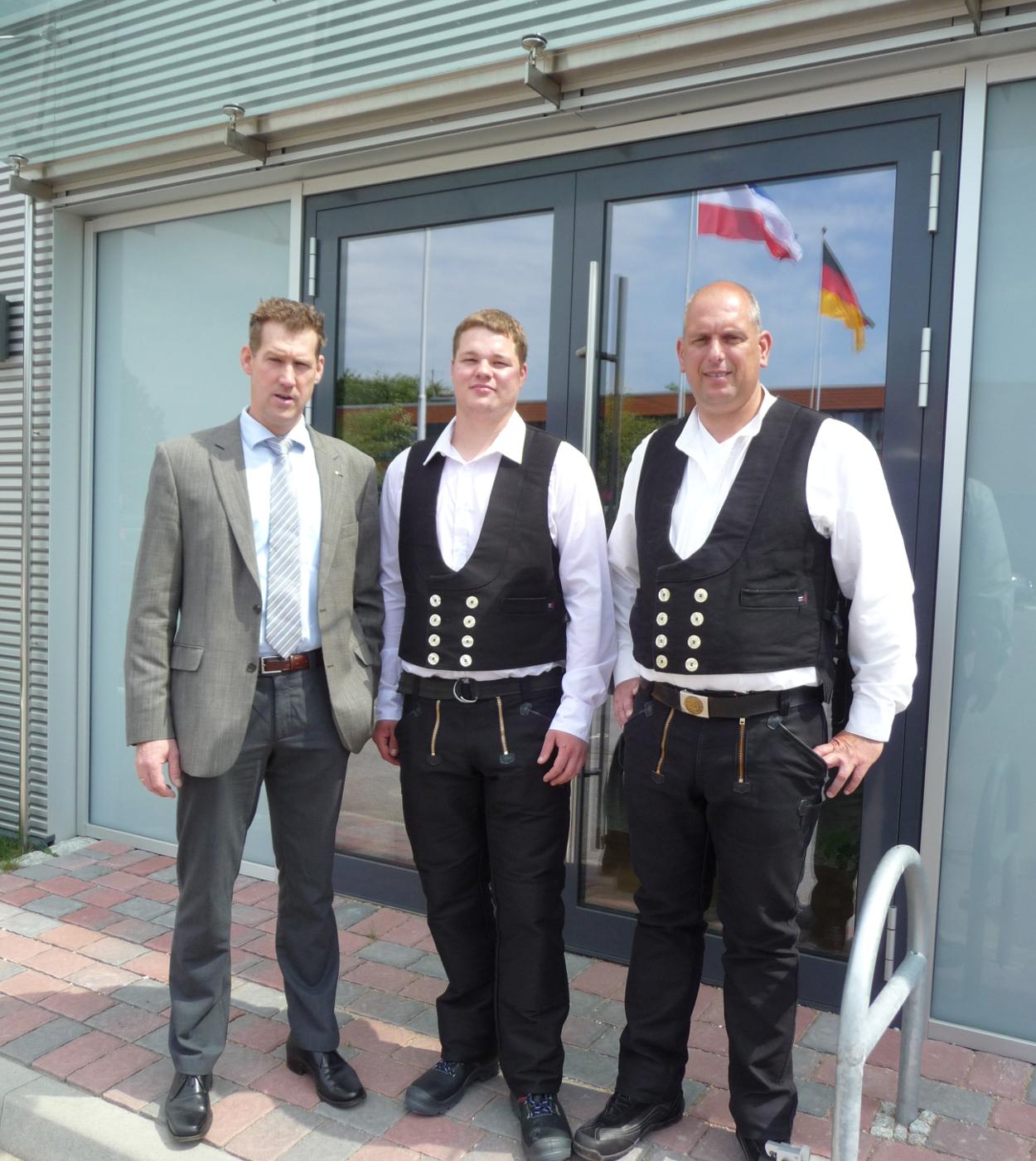 Freisprechungsfeier im Ausbildungszentrum der Bauindustrie SH/HH in Ahrensbök